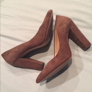 BCBGeneration brown heels